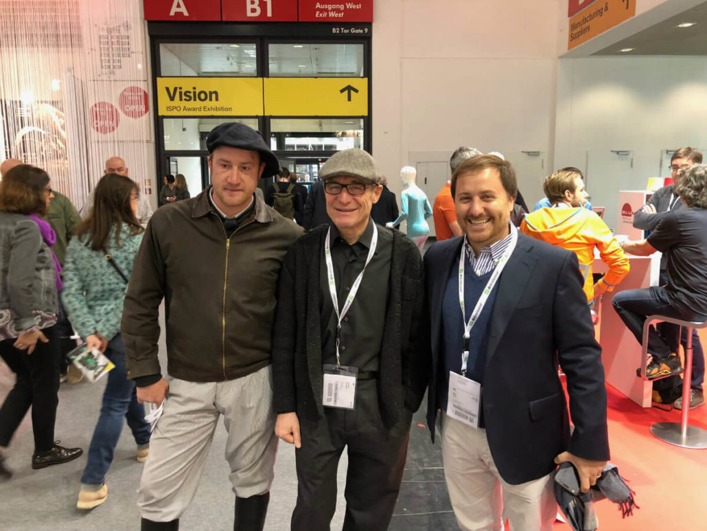 Clients visiting the ISPO stand 2018