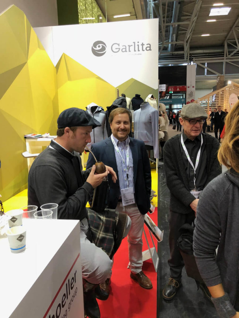 Drinking Mate at ISPO 2018