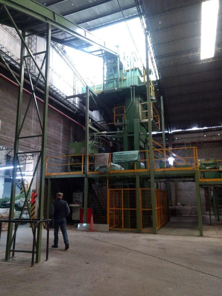 Wool Press at Fuhrmann warehouse