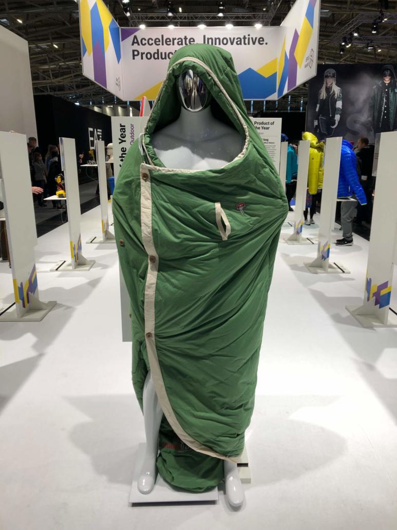 Grüezi Sleeping Bag at ISPO 2019