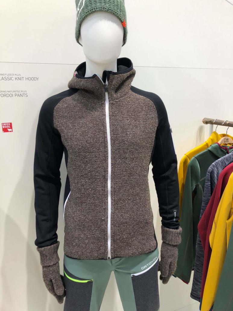 Ortovox jacket at ISPO 2019