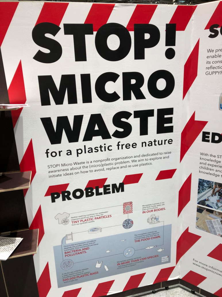 Stop Micro Waste exposition at ISPO 2019