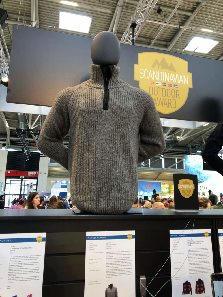 Ulvang Wool Sweater at ISPO 2019