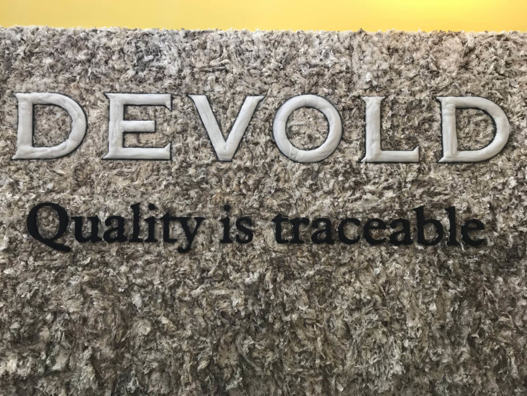Devold Wool Wall at ISPO 2019